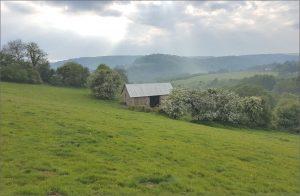 Offa's Dyke, Brockweir, Gloucestershire